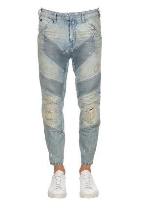 MOTAC-X 3D RELAXED TAPERED CROP JEANS