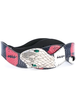 Gucci embellished belt - Blue