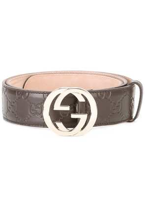 Gucci Gucci Signature belt - Brown