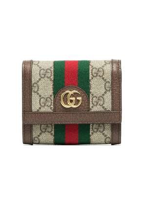 Gucci beige ophidia gg canvas wallet - Nude & Neutrals