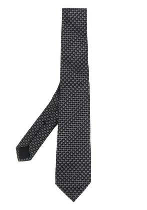Gucci bee pattern tie - Black