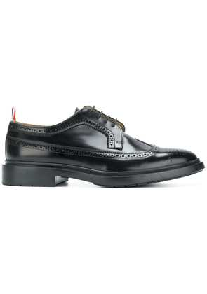 Thom Browne Shiny Leather Classic Longwing Brogue - Black