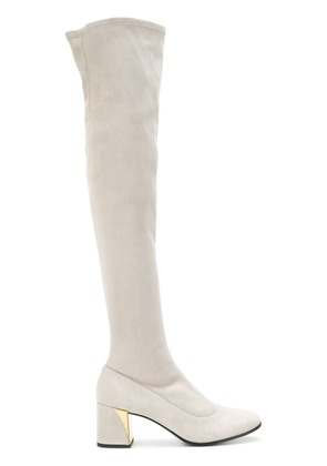 Fabi over the knee boots - Grey