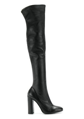 Fabi over the knee boots - Black