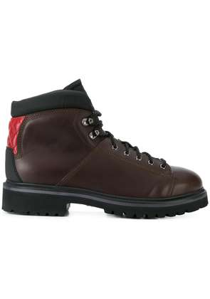 Fabi lace-up boots - Brown