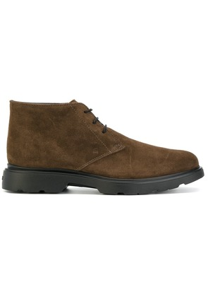 Hogan lace-up boots - Brown