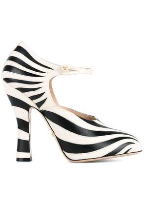Gucci striped pumps - Nude & Neutrals