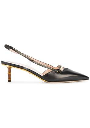 Gucci studded pumps - Black