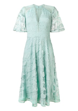 Temperley London lace midi dress - Green