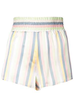 Morgan Lane Corey striped shorts - Multicolour