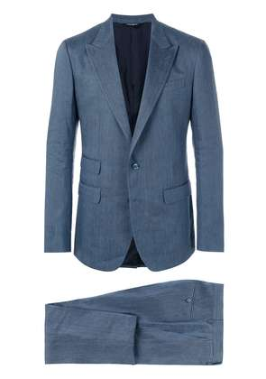 Dolce & Gabbana tailored two-piece suit - Blue