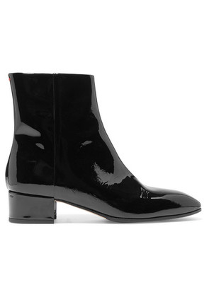 aeyde - Naomi Patent-leather Ankle Boots - Black
