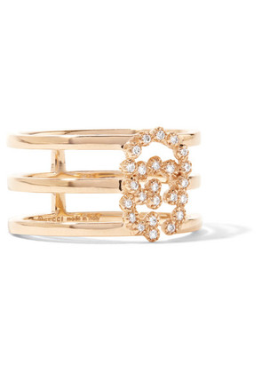 Gucci - 18-karat Gold Diamond Ring - 13