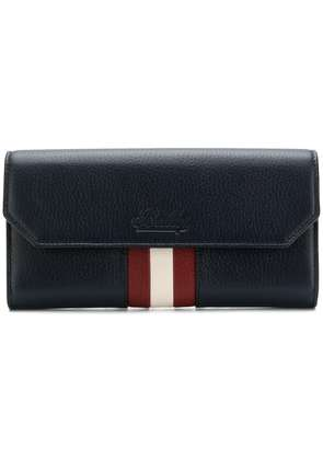 Bally front striped purse - Blue