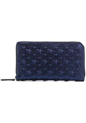 Jimmy Choo Carnaby wallet - Blue