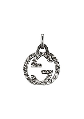Gucci Interlocking G charm in silver - Metallic