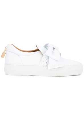 Buscemi bow detail slip-on trainers - White