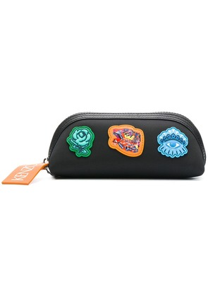 Kenzo Go Tigers Capsule pencil case - Black