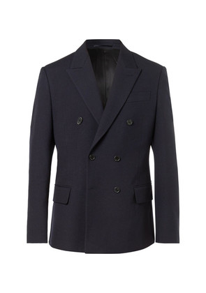 Charles Slim-fit Double-breasted Wool Jacket