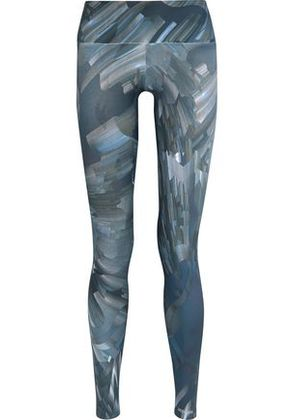 Bodyism Woman I Am Ready Printed Stretch-jersey Leggings Multicolor Size M