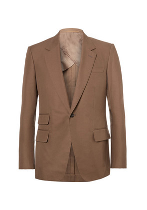 Eggsy's Brown Cotton-twill Suit Jacket