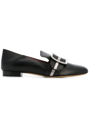 Bally Janelle collapsible-counter slippers - Black