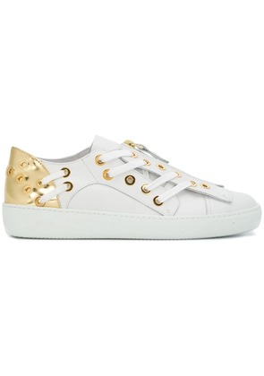 No21 lace-up detail sneakers - White