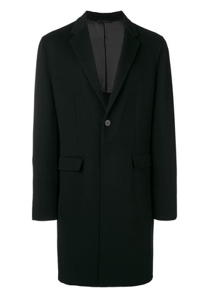 Joseph boxy single-breasted coat - Black