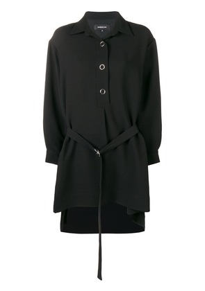 Barbara Bui high low shirt dress - Black