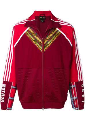 Adidas By Pharrell Williams zip front track jacket - Red