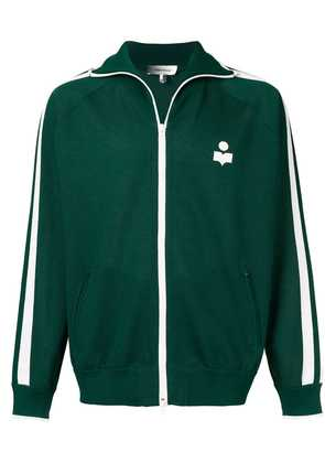 Isabel Marant logo sports jacket - Green