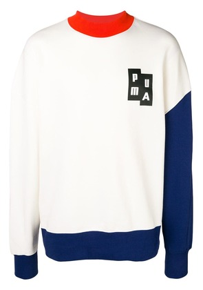 Puma high neck sweatshirt - White