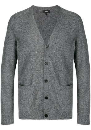 Theory front pocket buttoned cardigan - Grey