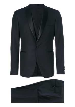 Tagliatore three piece dinner suit - Blue