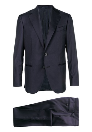 Caruso classic two-piece suit - Blue