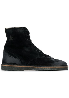 Golden Goose Deluxe Brand high ankle boots - Black
