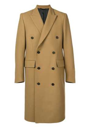 Golden Goose Deluxe Brand double-breasted fitted coat - Nude &