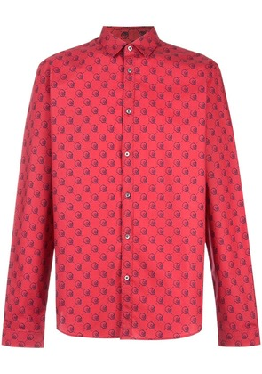 Gucci Gucci Ghost Duke shirt - Red