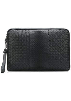 Bottega Veneta functional laptop case - Black