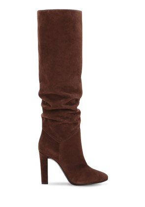 100MM SUEDE TALL BOOTS