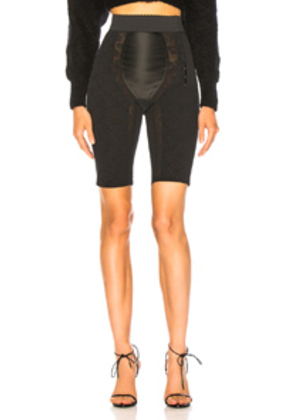 Dolce & Gabbana Fitted Mid Length Shorts in Black