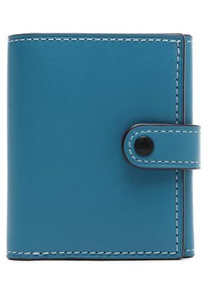 Coach Woman Leather Wallet Azure Size -