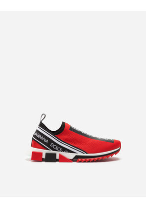Dolce & Gabbana Sneakers and Slip-On - BRANDED SORRENTO SNEAKERS RED