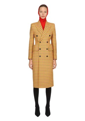 3D WOOL TWEED COAT