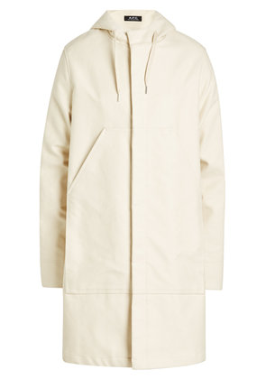 A.P.C. Cotton Coat with Hood