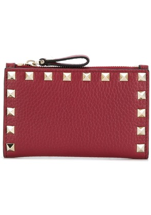 Valentino Valentino Garavani Rockstud coin purse and cardholder - Red