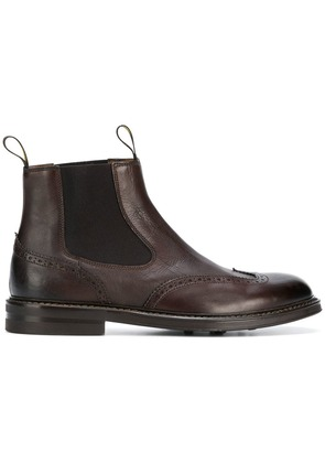 Doucal's pull-on boots - Brown