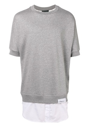 3.1 Phillip Lim layered T-shirt - Grey