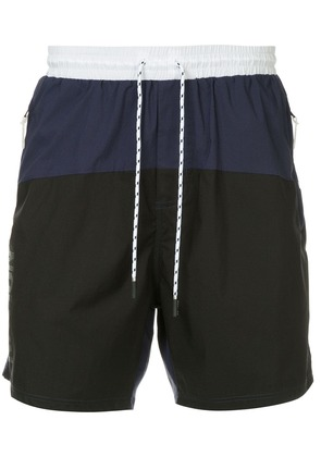 P.E Nation Aerobic swim shorts - Blue