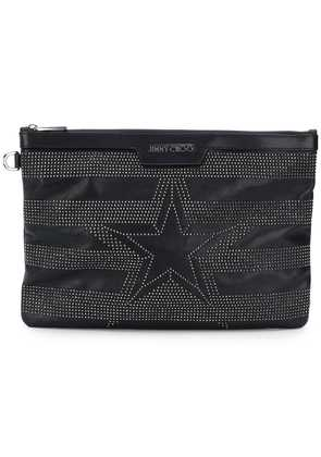 Jimmy Choo Derek clutch bag - Black